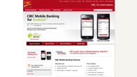 CIBC Mobile Solutions Website